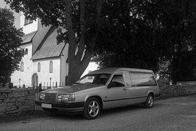 Begravningsbil Evighetens Vila begravningsbyrå