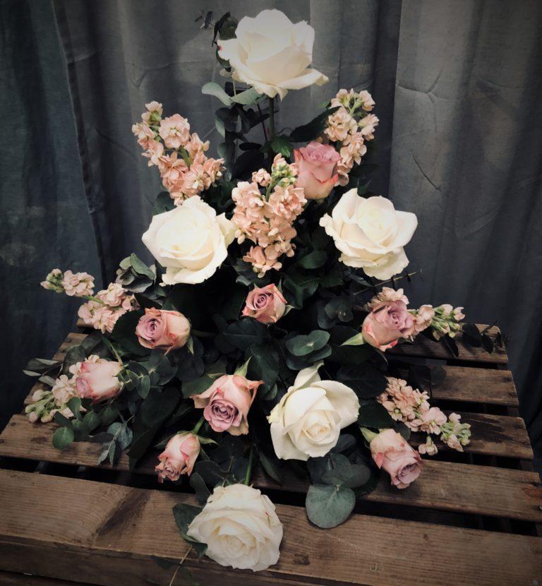blomsteruppsättningar till begravning