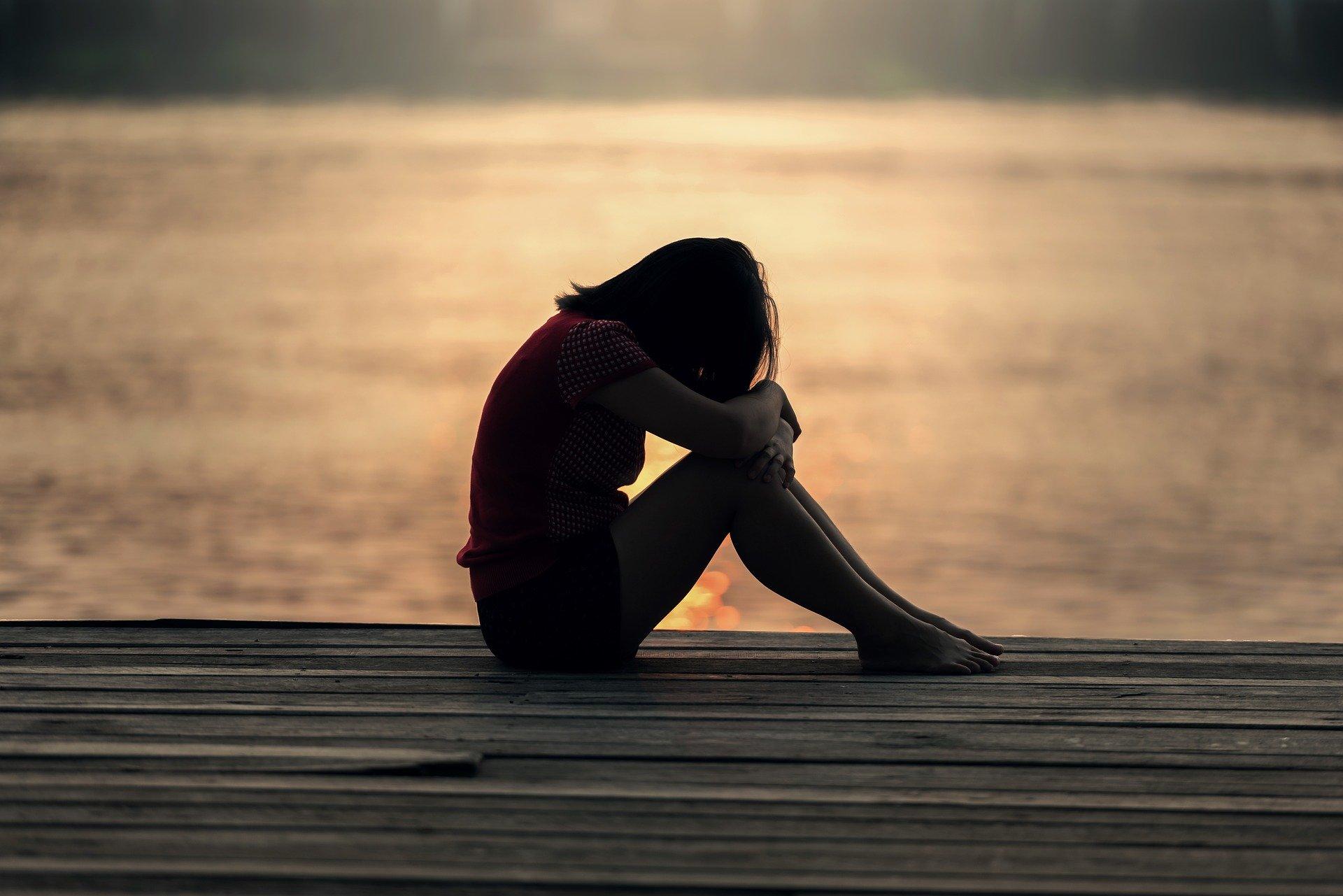 bild av sorg