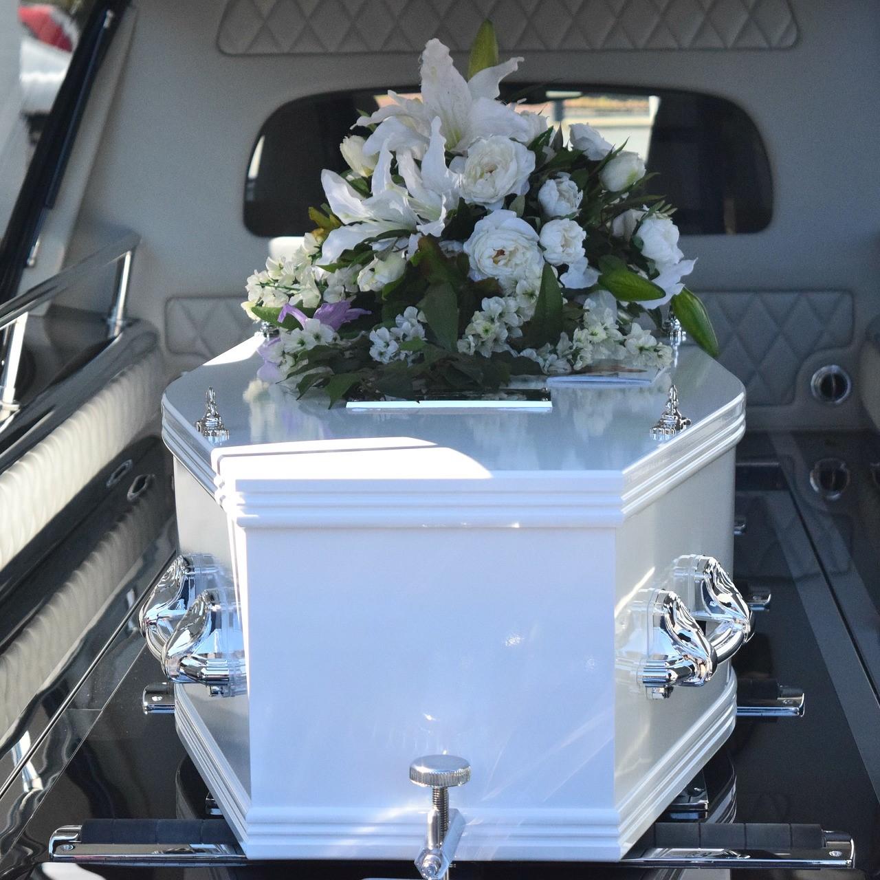 Evighetens Vila Begravningsbyrå begravningsbil