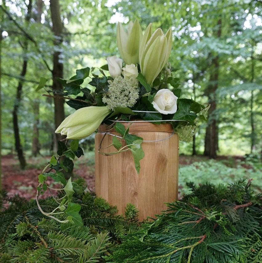 Evighetens Vila Begravningsbyrå begravning kring urna