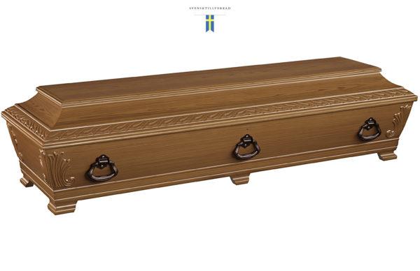 """Kista """"Solid"""" Evighetens Vila Begravningsbyrå"""
